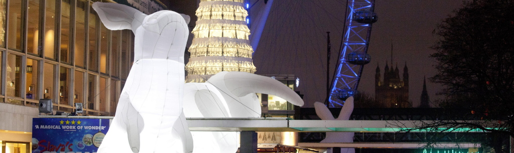 Amanda Parer's Intrude at Southbank Centre's Winter Festival with NatWest_CREDIT Belinda Lawley _ Southbank Centre